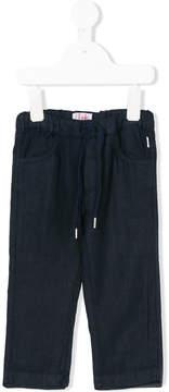 Il Gufo elasticated drawstring trousers