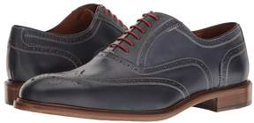 Matteo Massimo 6-Eye Wing Tip Men's Lace Up Wing Tip Shoes