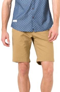 7 Diamonds Men's Slim Fit Brushed Twill Shorts