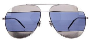 Christian Dior Split 1 Aviator Sunglasses