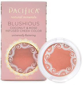 Pacifica Blushious Coconut Rose Infused Cheek Color - Camelia by .10oz Compact)