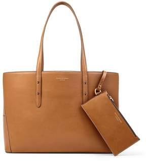 Aspinal of London Regent Tote In Smooth Tan