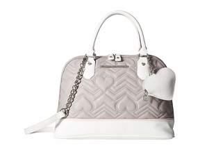 Betsey Johnson Dome Satchel Satchel Handbags