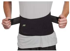 New Balance Unisex Ti22 Adjustable Back Support w/ Hot/Cold Compress