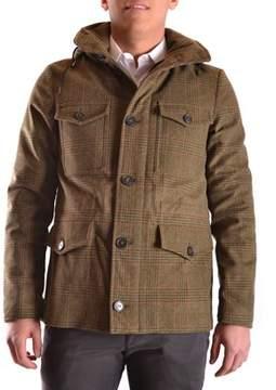 Peuterey Men's Green Cotton Coat.