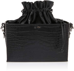 Off-White Embossed Cocco Soft Boxy Bag