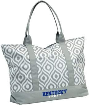 NCAA Logo Brand Kentucky Wildcats Ikat Tote