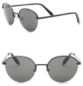 Victoria Beckham 52mm Round Sunglasses