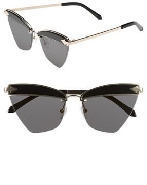 Karen Walker Women's Sadie 59Mm Sunglasses - Black