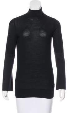 Celine Silk-Paneled Wool Sweater