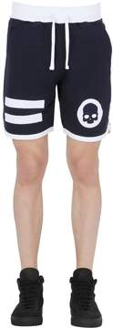 Hydrogen Hockey Cotton Jogging Shorts W/ Patches