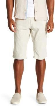ProjekRaw Projek Raw Drawstring Flat Front Shorts
