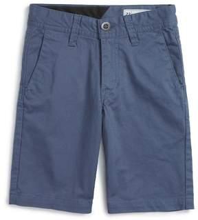 Volcom Cotton Twill Short (Toddler & Little Boys)