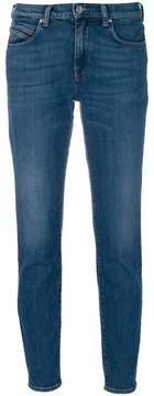 Diesel Black Gold Type cropped jeans