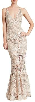 Dress the Population Sophia Lace Mermaid Gown