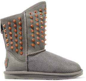 Australia Luxe Collective Pistol Studded Shearling Ankle Boots