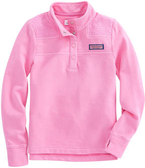 Vineyard Vines Girls Seersucker Snap Placket Shep Shirt