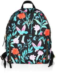 Kate Spade Watson Lane Hartley Floral Backpack - BLACK MULTI - STYLE
