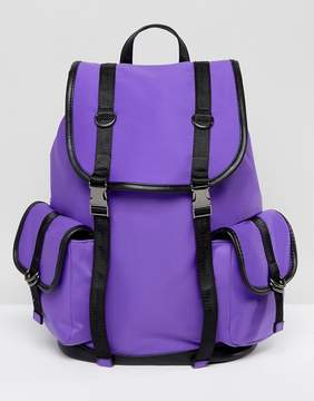 New Look Neoprene Tab Backpack