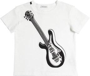 Dolce & Gabbana Guitar Patch Cotton Jersey T-Shirt