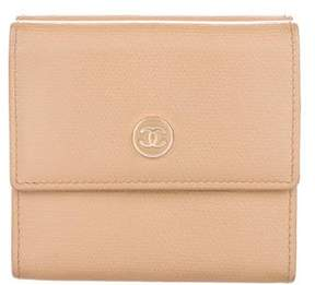 Chanel Compact Leather Wallet