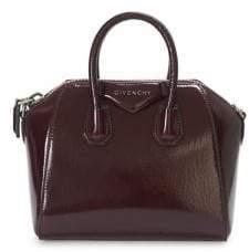 Givenchy Mini Crinkle Patent Antigona Bag
