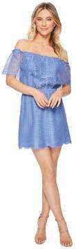 BB Dakota Zinnia Lace Off the Shoulder Dress Women's Dress