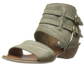 Miz Mooz Womens Cyrus Leather Open Toe Casual Ankle Strap Sandals.