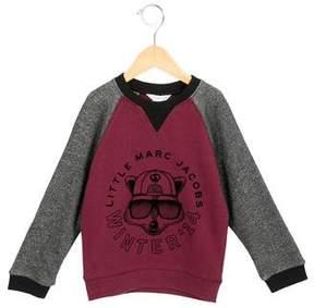 Little Marc Jacobs Boys' Pullover Raccoon Print Sweatshirt w/ Tags