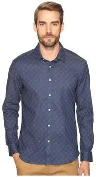 7 Diamonds Spiral Long Sleeve Shirt Men's Long Sleeve Button Up