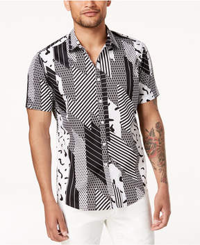 INC International Concepts I.n.c. Men's Digi Camo-Print Shirt, Created for Macy's