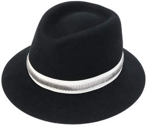Lanvin embellished chain hat