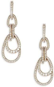 Adriana Orsini Women's Pavé Cubic Zirconia Drop Earrings