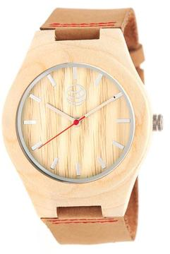 Earth Aztec Collection ETHEW4101 Wood Analog Watch