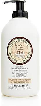 Perlier 16.9 oz Shea Butter with Sweet Almond Milk Moisturizing Bath Cream