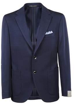 Cantarelli Men's 8122532711001 Blue Cotton Blazer.