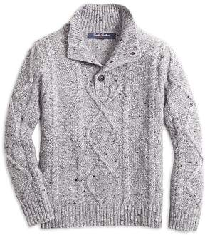 Brooks Brothers Boys' Cable-Knit Sweater - Big Kid