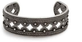 Saint Laurent Marrakech engraved bangle
