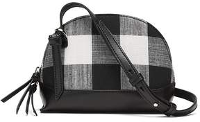 Banana Republic Gingham Dome Crossbody