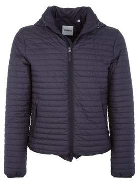 Aspesi Men's Blue Polyester Down Jacket.