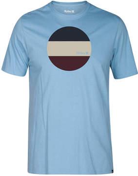 Hurley Men's Circular Block Premium Logo-Print T-Shirt