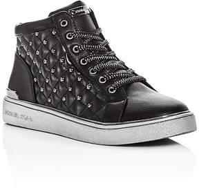 MICHAEL Michael Kors Girls' Ivy Rome High Top Sneakers - Toddler, Little Kid, Big Kid