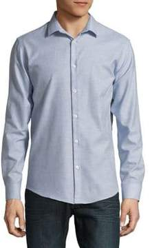 Selected Printed Cotton Button-Down Shirt