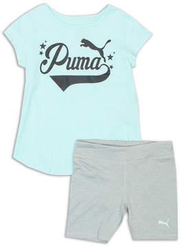 Puma Kids Apparel 2-pc. Short Set Toddler Girls
