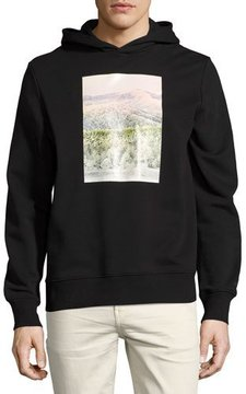 Ovadia & Sons Appalachian Winter Cotton Hoodie, Black