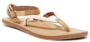 Reef Braided Wrap Creme Sandal (Women)