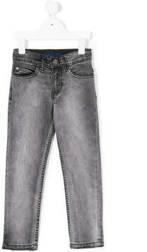 Zadig & Voltaire Kids faded frayed jeans
