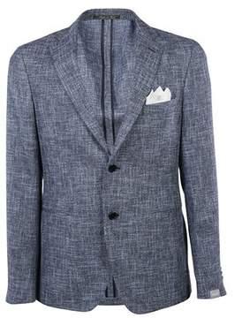 Cantarelli Men's Multicolor Cotton Blazer.