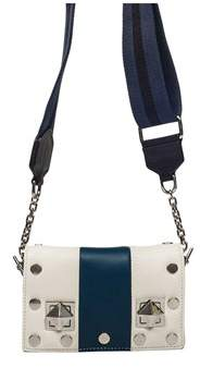 Sonia Rykiel Women's White Leather Shoulder Bag.