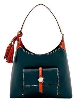 Dooney & Bourke Cambridge Small Hobo Shoulder Bag. - BLACK - STYLE